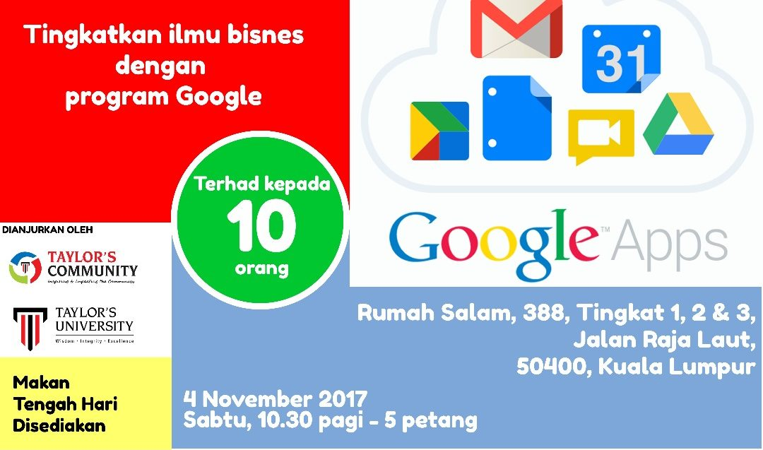 Google Apps for Rumah Salam